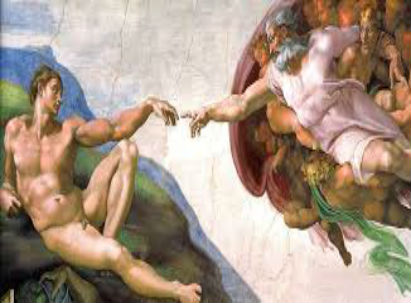The Creation Of Adam is a painting by Michelangelo